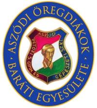 Aszódi Öregdiákok Baráti Egyesülete logó