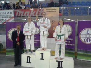 Vajvoda Anna az Országos karate döntőn