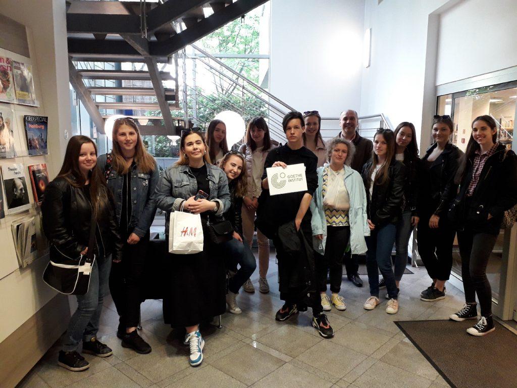 A Goethe Intézetben jártunk - 2019.04.16.